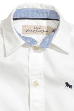 Cotton shirt - White -  | H&M CN 3